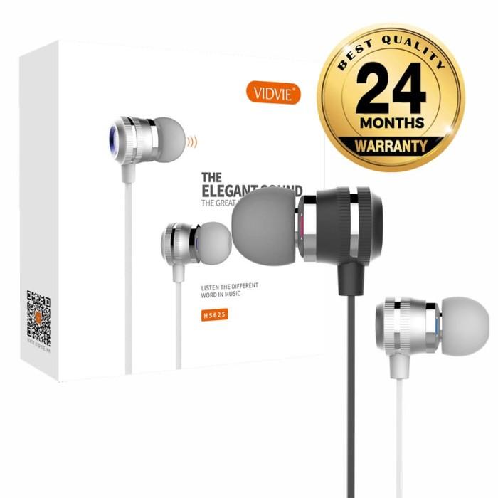 VIDVIE Earphone HS625 / Headset / Handsfree / Earbuds - Perak