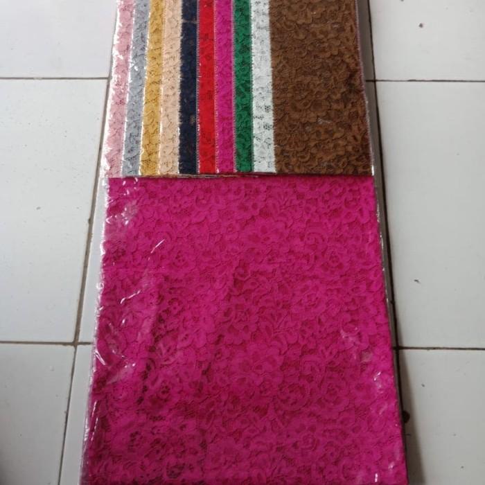 harga Brukat brokat cord corneli jagatronik bahan kain kebaya d5 Tokopedia.com