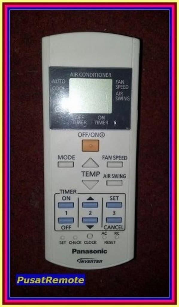 Jual Remot Remote AC Panasonic Inverter A75C3716 Original PIARYIRGB de -  toko siren | Tokopedia