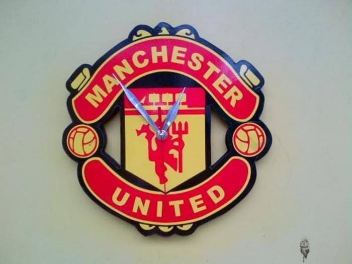 Jual TERLARIS Jam Dinding Manchester United Jam Bola Unik Murah Best ... 8cc90c4293