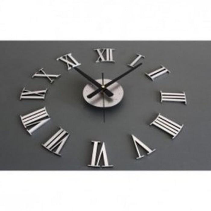 Jual DIY Giant Wall Clock 30-60cm Diameter ELET00662 - Jam Dinding ... 17133187e4