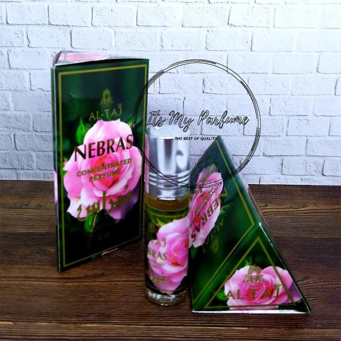 Al Taj Aroma Nebras Parfume Non Alkohol 6 ml - Its My Parfume