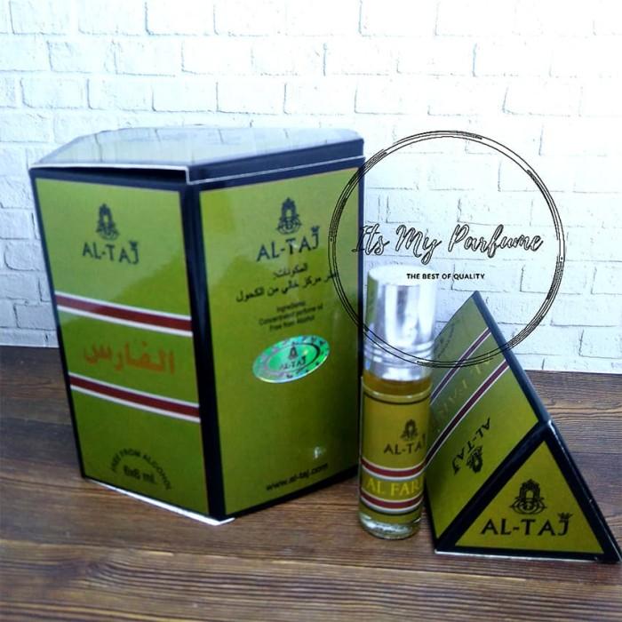 Al Taj Aroma Alfares Parfume Non Alkohol 6 ml - Its My Parfume
