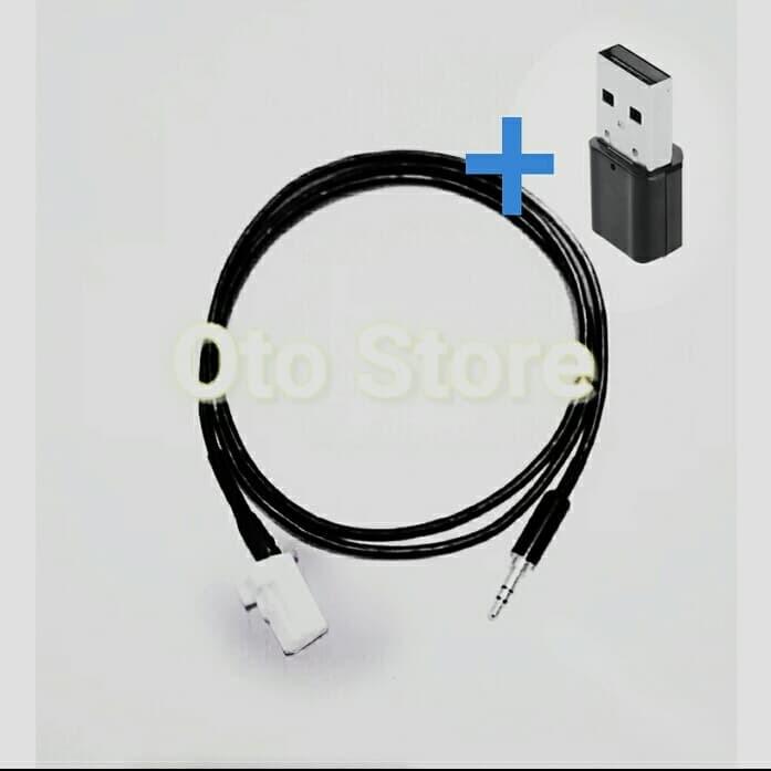 Foto Produk Kabel Aux Ertiga dan Mini Bluetooth dari OTO kiosk