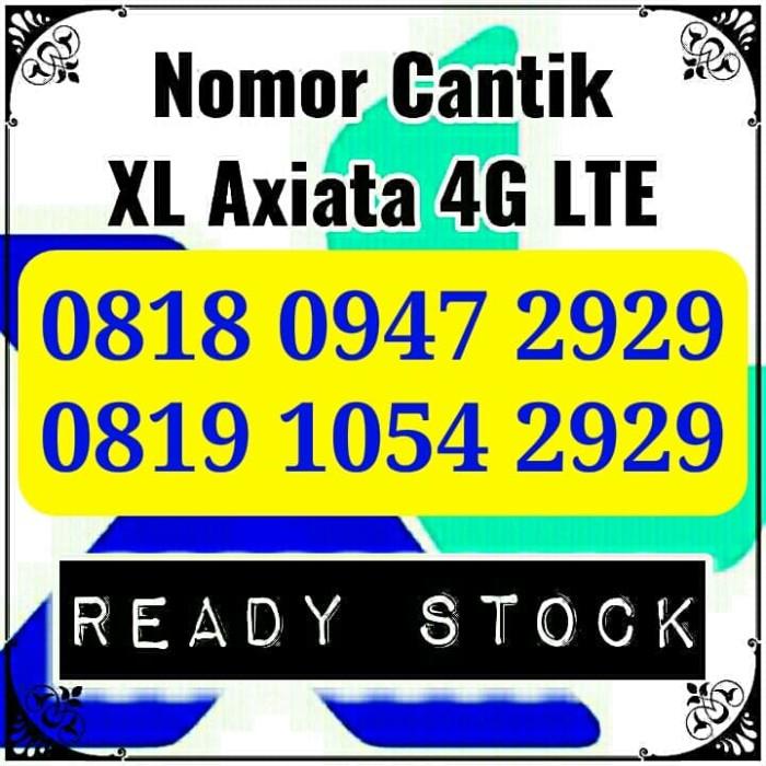 Nomor Cantik XL 2929 Kartu Perdana XL Axiata 4G LTE Seri ABAB Rapih