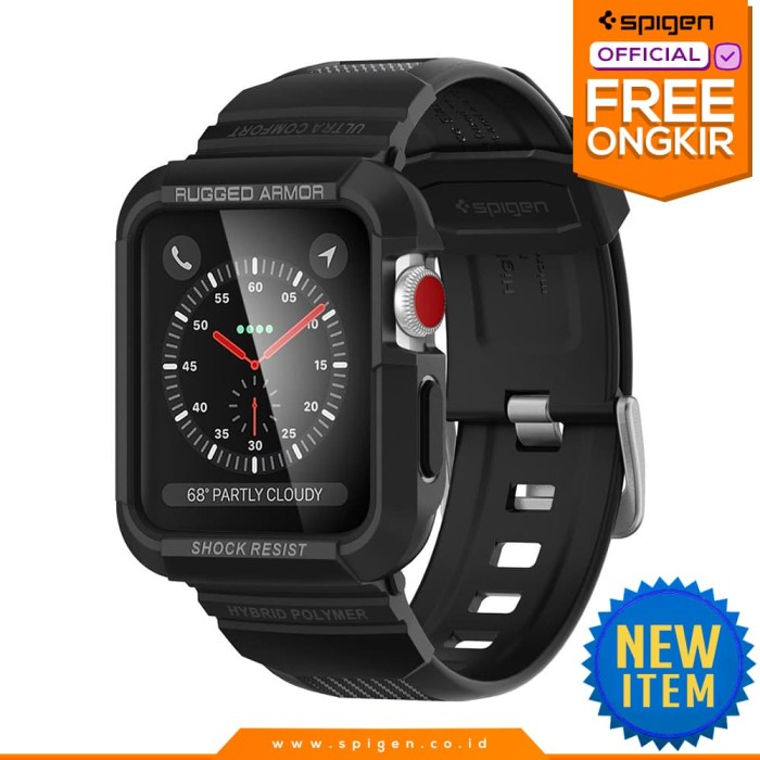 harga Strap apple watch 42mm 3 2 1 case spigen softcase rugged armor pro Tokopedia.com