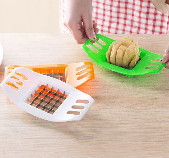 Potato Cutter Slicer Chopper French Fries Alat Pisau Pemotong Kentang