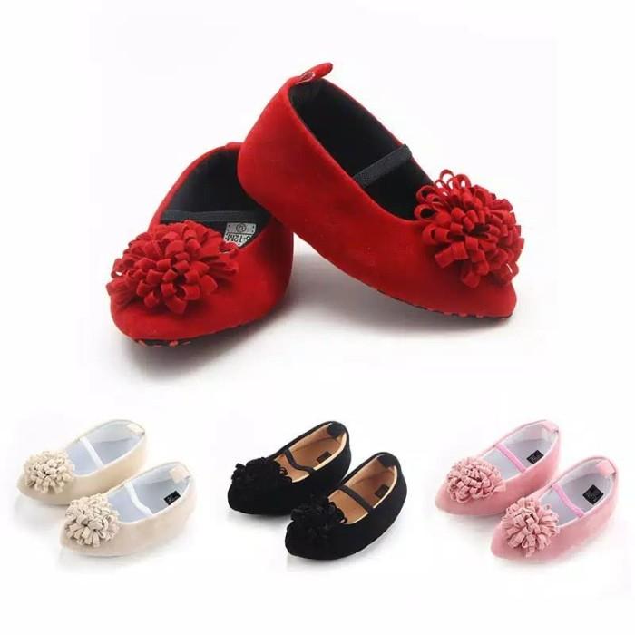 Jual Sepatu Bayi Heels Teplek Wedges Bayi Perempuan Prewalker Bayi