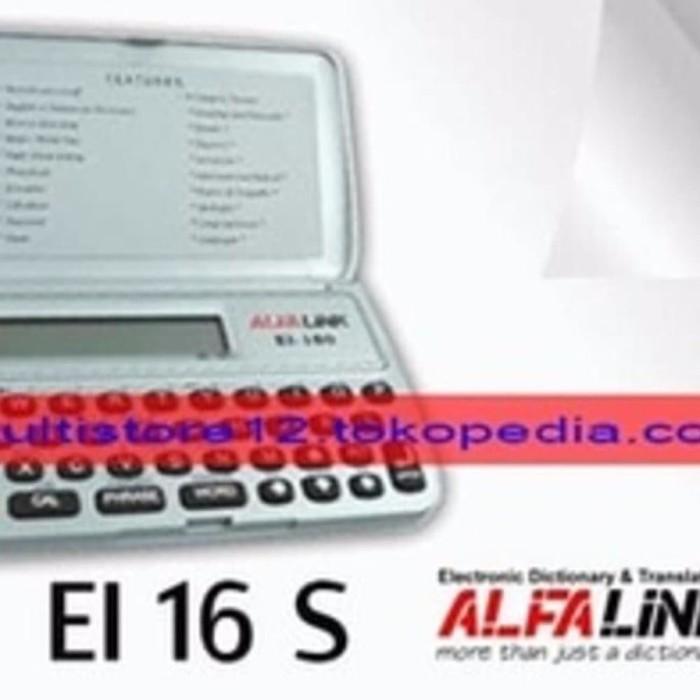 BEST SELLER Baru Alfalink Ei 16 S Kamus Elektronik U002F Digital Dict