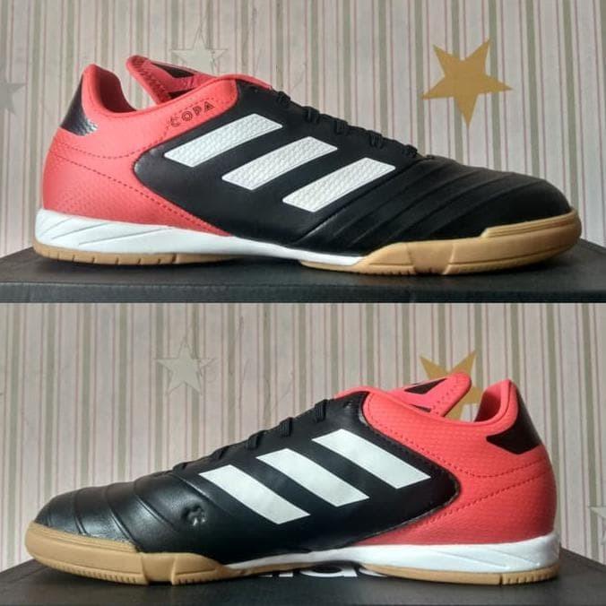 release date 1bc92 6c2a2 Sepatu Futsal Adidas Copa Tango 18.3 Core Black White Cp9017 Original