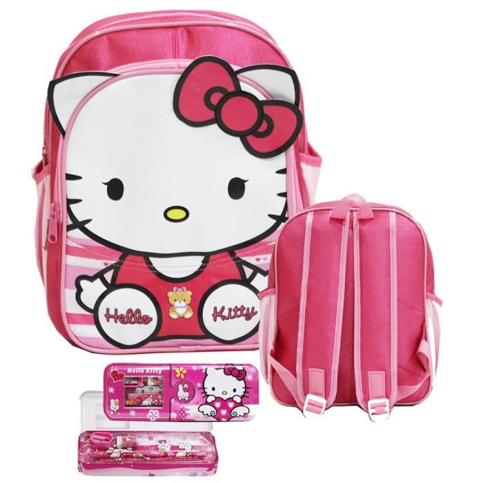 Jual Promo Tas Murah Hello Kitty Pita Cute Tas Anak Sekolah Tk Pg Bahan Jakarta Timur Tas Sekolah Keren Tokopedia