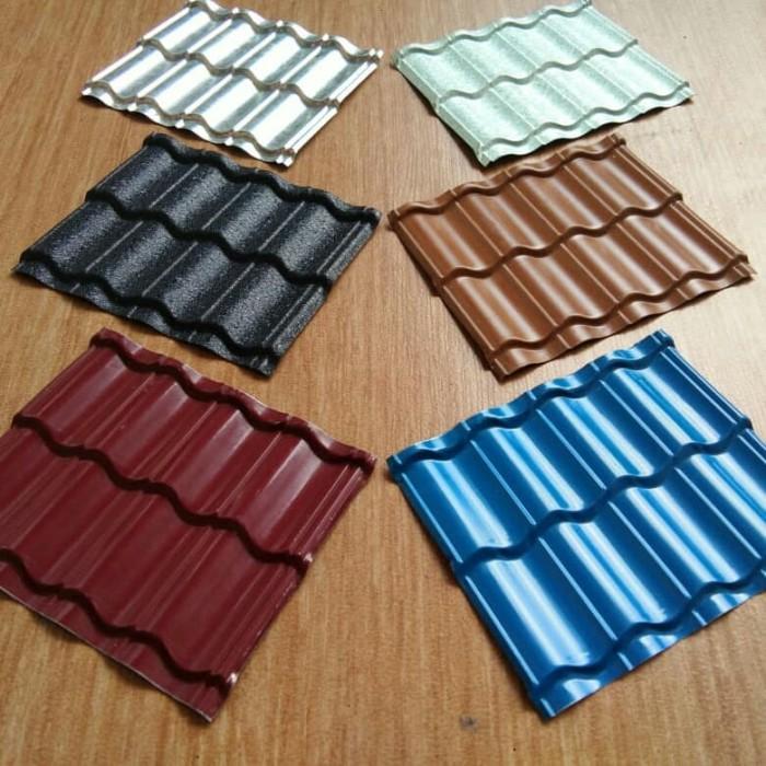 Harga Jual Genteng Metal Multiroof Pasir Polos Rp 47000