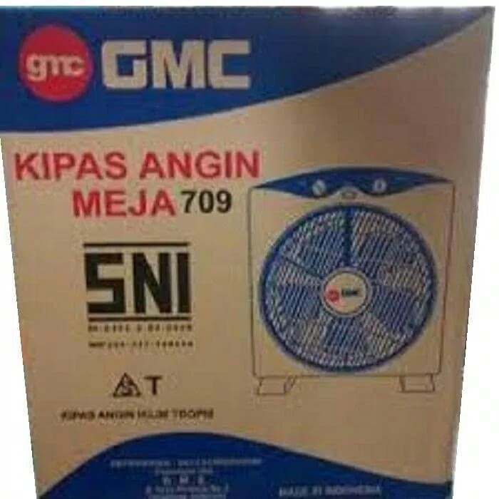 "Kipas Angin kotak GMC 709 (12"")/ Box fan GMC 12"""