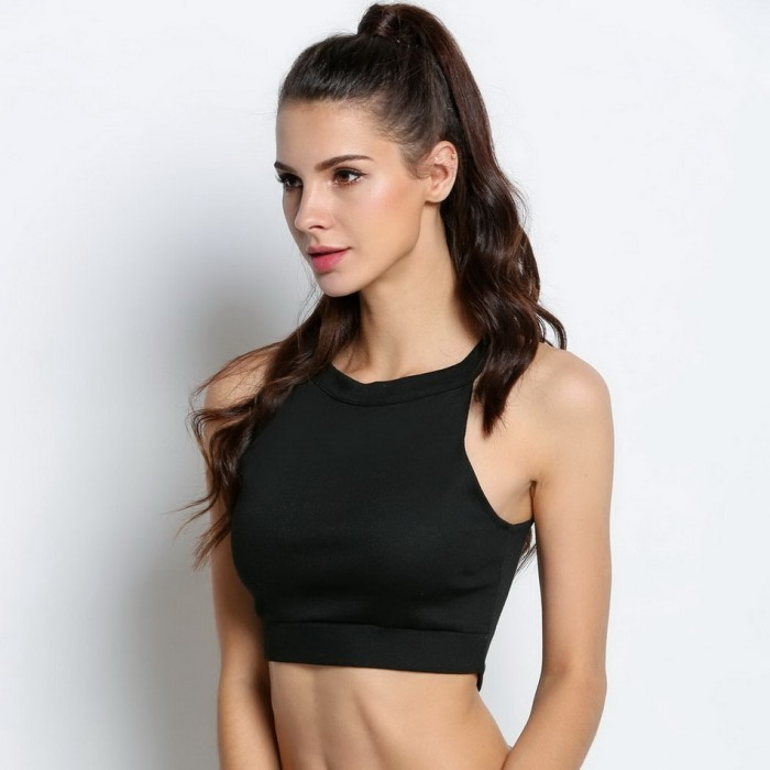 c7224fc361 Sexy Crop Top Women Tank Tops Summer Beach Cropped T-Shirts Sleeveless
