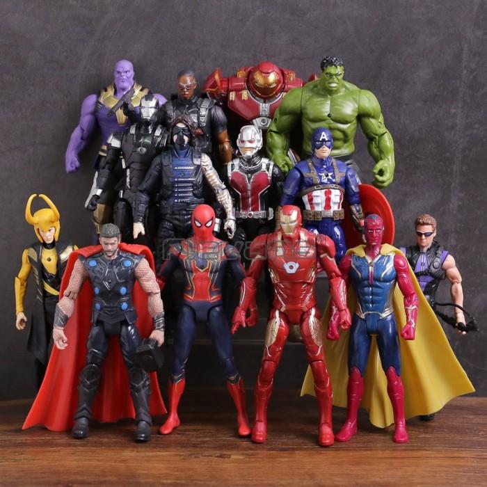 Jual Baru Action Figure Avengers 3 Infinity War Thanos Iron Man Captain Jakarta Pusat Lovelishopstore Tokopedia