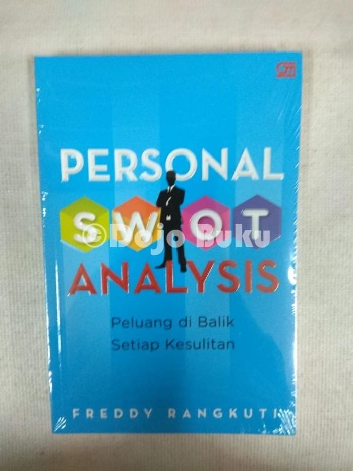 harga personal swot analysis by freddy rangkuti Tokopedia.com