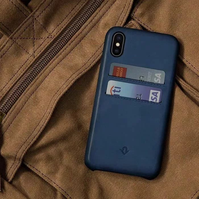 factory authentic e1050 0c909 Jual Twelve south iPhone X case relaxed leather with pockets - indigo - DKI  Jakarta - i-Store Gadget | Tokopedia
