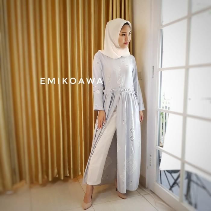 harga Gamis unique - emikoawa / dress / maxi / busui /souvenir / berkualitas Tokopedia.com