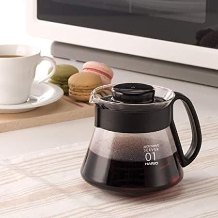 Hario V60 Coffee Server VCS-01B 450 ml Black