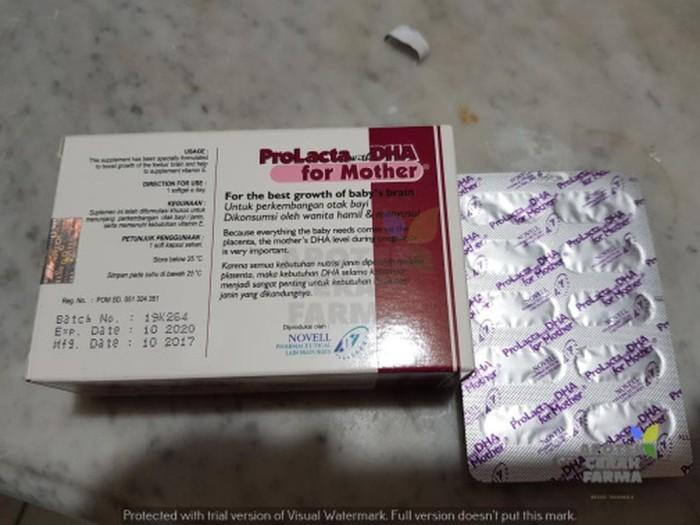 ProLacta DHA Mother / Ibu 1 Lembar isi 10
