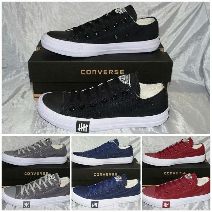 Jual SEPATU CONVERSE ALL STAR CHUCK TAYLOR CT II UNDEFEATED LOW ... 4dead37aa7