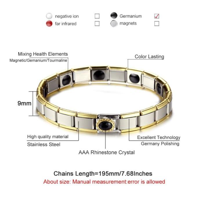 Ion Health Therapy Bracelet - Gelang Kesehatan Magnet - Gelang Pria. Source .