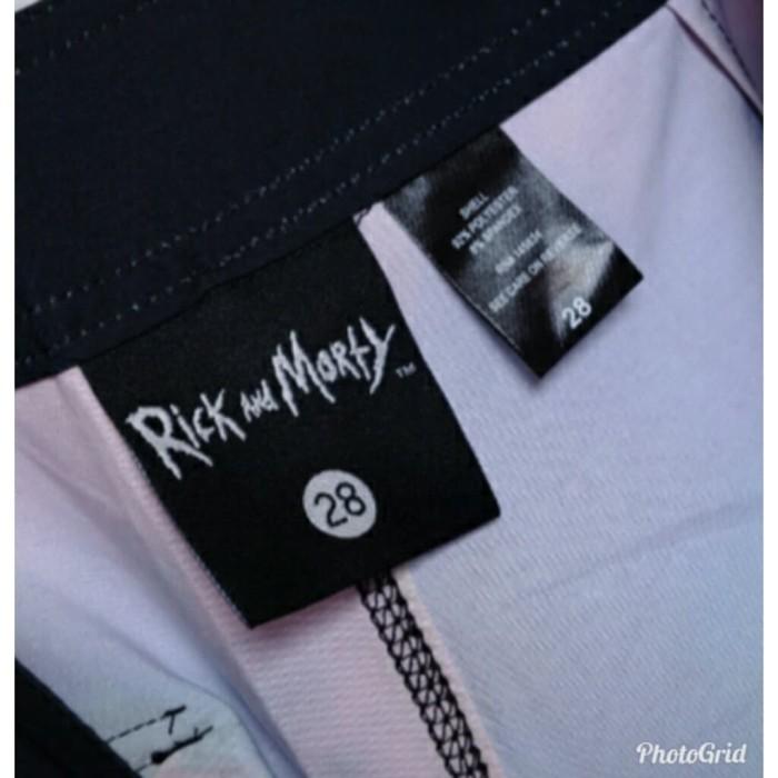 b2f8e75a63 Jual Celana Pantai Rick and Morty Tie Dye Swim Trunk Original - Kab ...