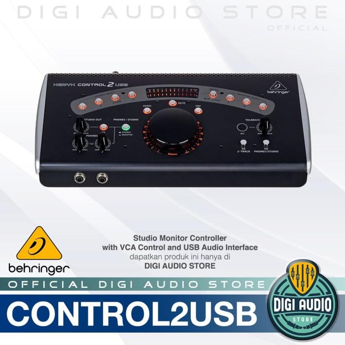 harga Behringer xenyx control2usb studio control management speaker monitor Tokopedia.com