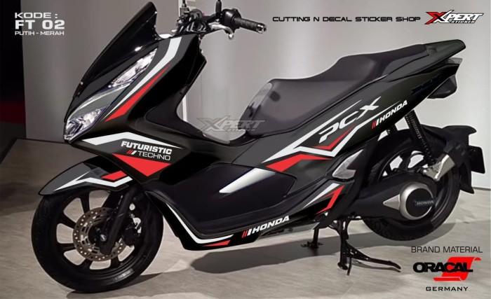 Sticker Pcx Honda Futuristic - Blanja.com