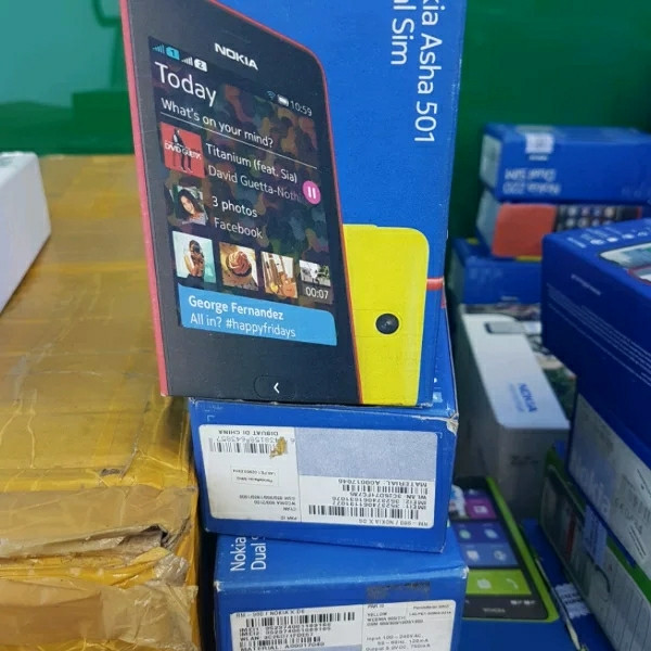 harga Nokia asha 501dual simwifi originalresmi bukan refurbished Tokopedia.com