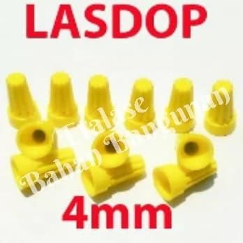 Lasdop Philmax 4mm Isi 100 Pcs