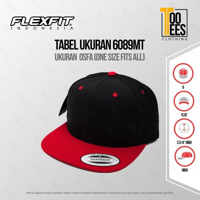 TOPI ORIGINAL FLEXFIT  6089MT Premium Classic Snapback 2-Tone  Murah 74c87fa8bd