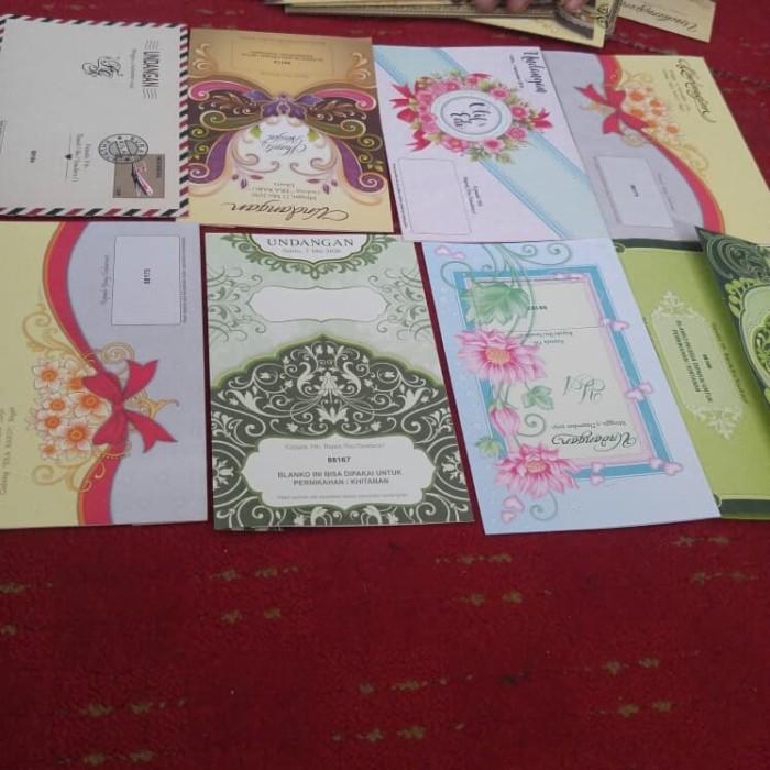 Jual Surat Undangan Pernikahan Kab Bogor Ubay Store2607 Tokopedia