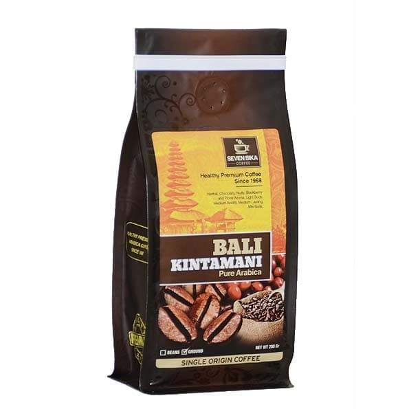 Kopi seven bika bali kintamani pure arabica 200 gr (biji/bubuk)fs