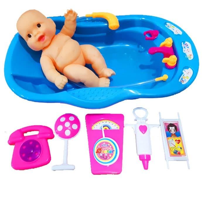 harga Baby bathtub mainan memandikan boneka bayi mainan anak perempuan Tokopedia.com