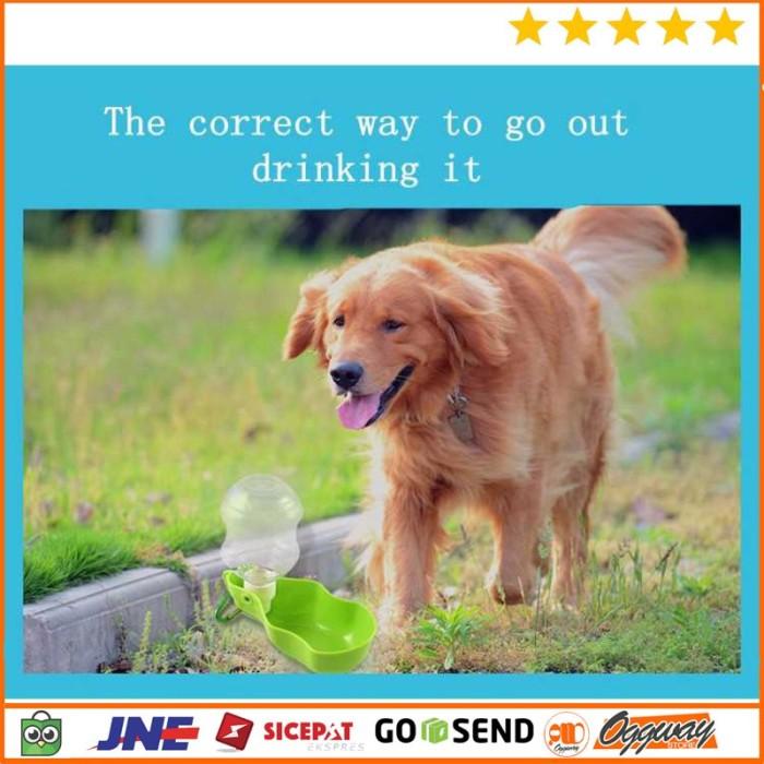 Botol Minum Dispenser Air Tempat Minum Anjing Drinking Fountain 500ml
