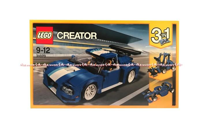 Jual Lego Creator 31070 Mobil Balap Turbo Track Racer Mainan Block