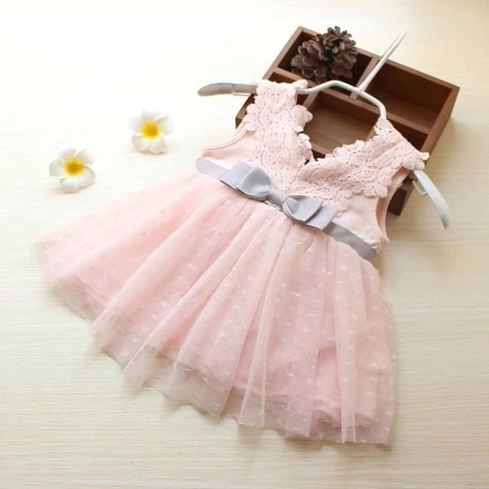 Jual Adena Dress Dress Pesta Anak Bayi Perempuan Import Gaun Pesta