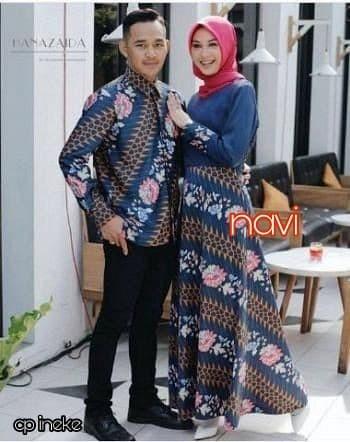 Setelan Wanita Muslim - Couple Kebaya Batik Modern Ineke - Dzikri ... 0cc6838bf1