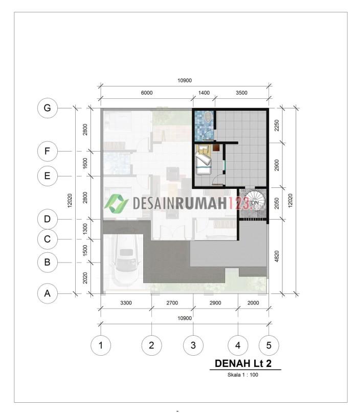700+ Gambar Desain Rumah 9 X 12 Terbaik Download