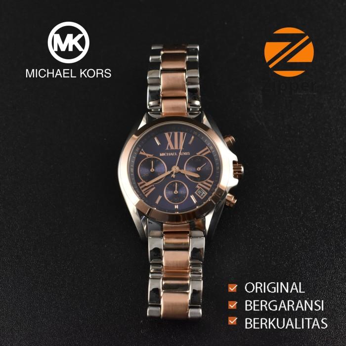 be52b9cc12e3 Michael Kors Original MK5606PL Jam Tangan Wanita Stainless Steel - Putih