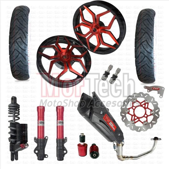 harga Paket aksesoris variasi motor vario 125 fi - techno 150 Tokopedia.com