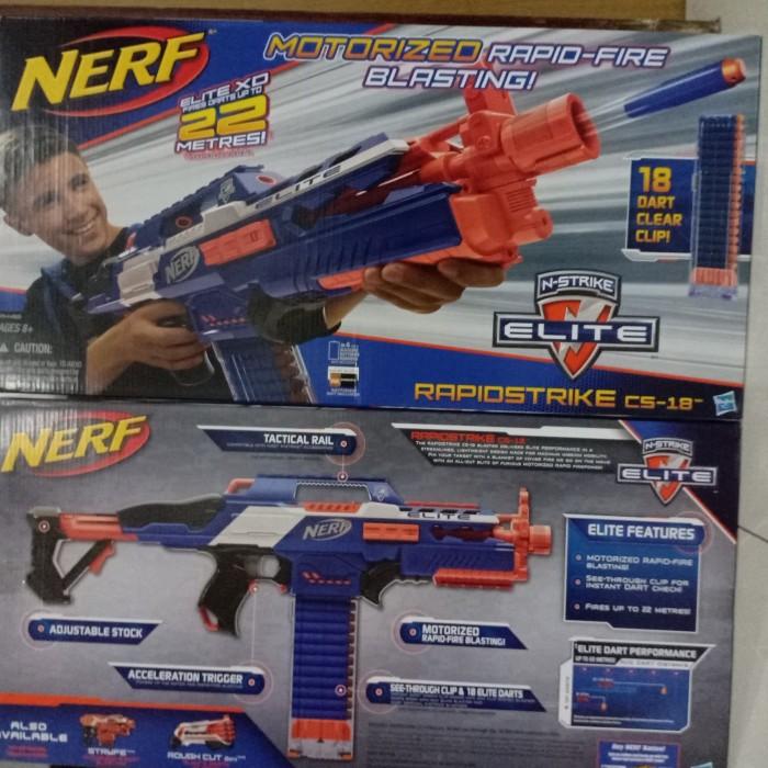 harga Nerf n-strike elite rapidstrike cs-18 Tokopedia.com