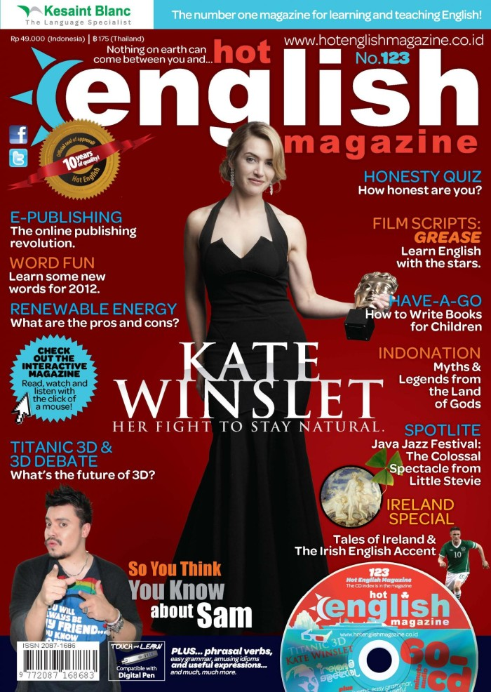 MAJALAH MURAH HOT ENGLISH MAGAZINE EDISI 123