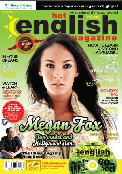 MAJALAH HOT ENGLISH MAGAZINE EDISI 115 - HOT ENGLISH GROUP