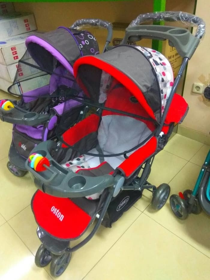 harga Baby stroller pliko boston/stroler bayi roda 3/kereta dorong anak bayi Tokopedia.com