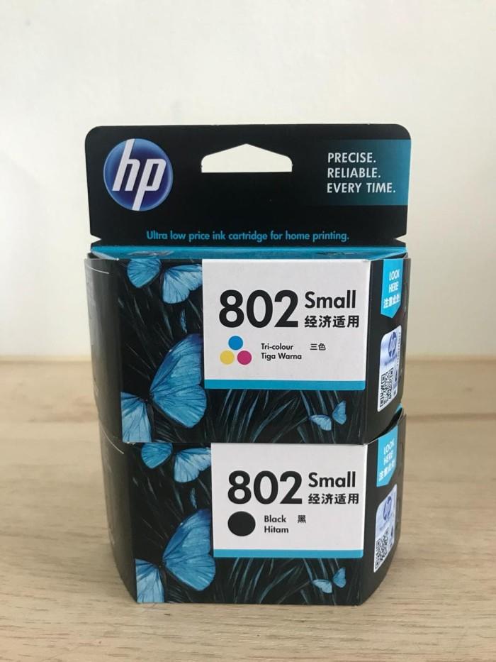 Foto Produk TINTA HP 802 SMALL ORIGINAL Colour Ink Catridge Warna dari myprinter.id