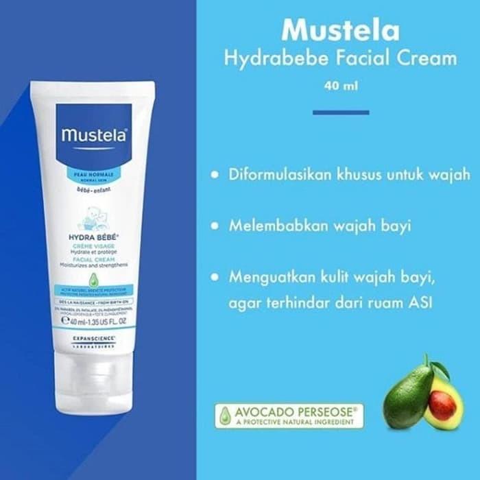 harga Free handuk mustela bebe facial cream 40ml Tokopedia.com