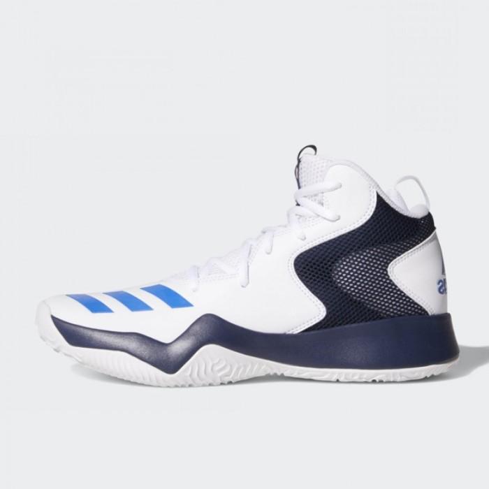 e7da9dce9 Harga Terbaru Sepatu Basket Adidas Crazy Team II White Blue Original ...