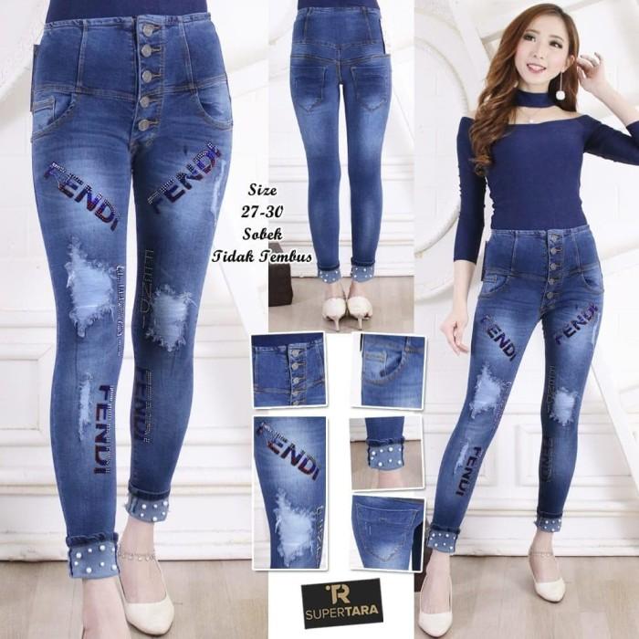 Info Harga Celana Jeans Fendi Kancing 5 Di Jakarta Ayurias